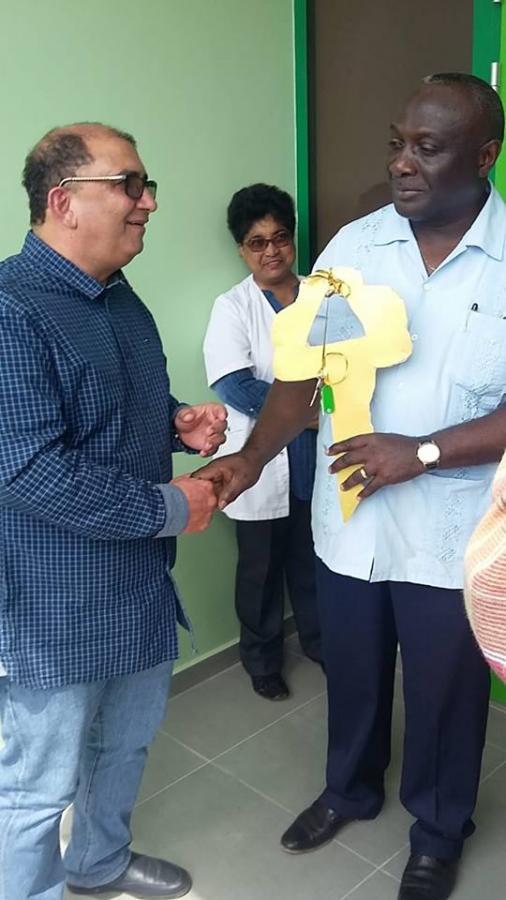 RGD Gezondheidscentrum Nickerie opgeleverd