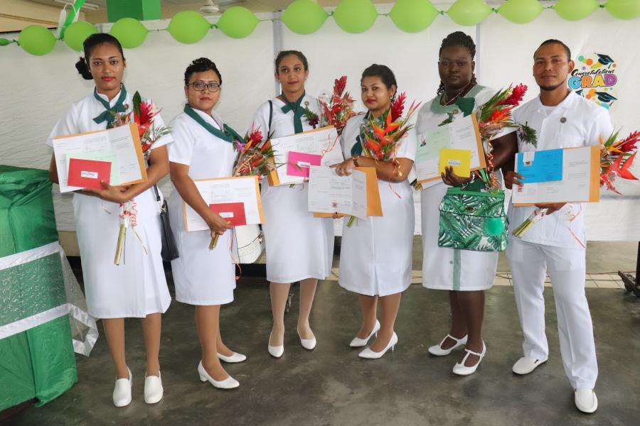 Opnieuw gediplomeerde gezondheidswerkers voor de RGD